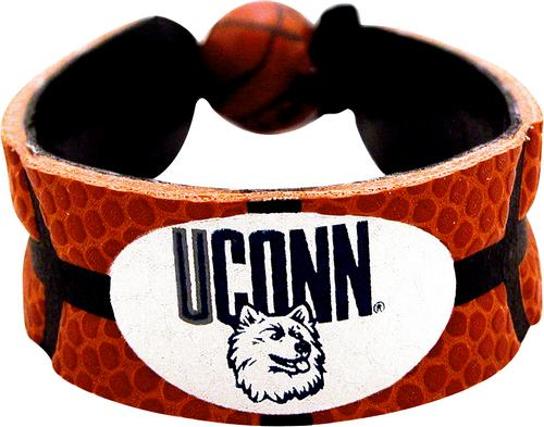 Connecticut Huskies Classic Basketball Bracelet-l