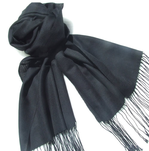 Thin cashmere scarf A02