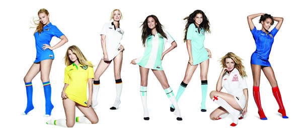 WAGs for Umbro