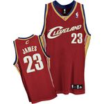 Adidas Cleveland Cavaliers LeBron James Authentic Road Jersey
