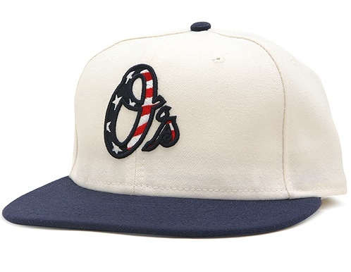 "The ""Stars   Stripes"" 59Fifty style caps come from New Era and are  available at www.mlb.com for  37. MLB will also donate  1 to Welcome Back  Veterans for ... ca110916433"