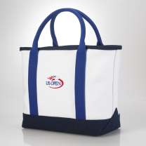 US Open Canvas Small Tote - Ralph Lauren Tennis - RalphLauren